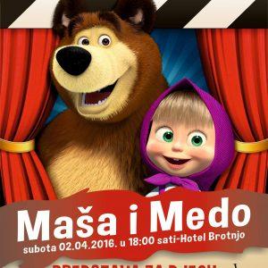Maša i Medo predstava za djecu