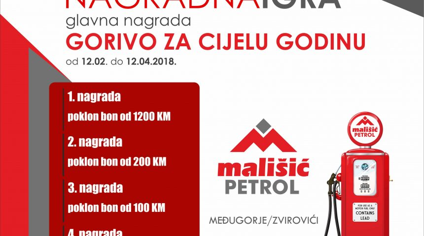 Dobitnici Mališić petrol nagradne igre
