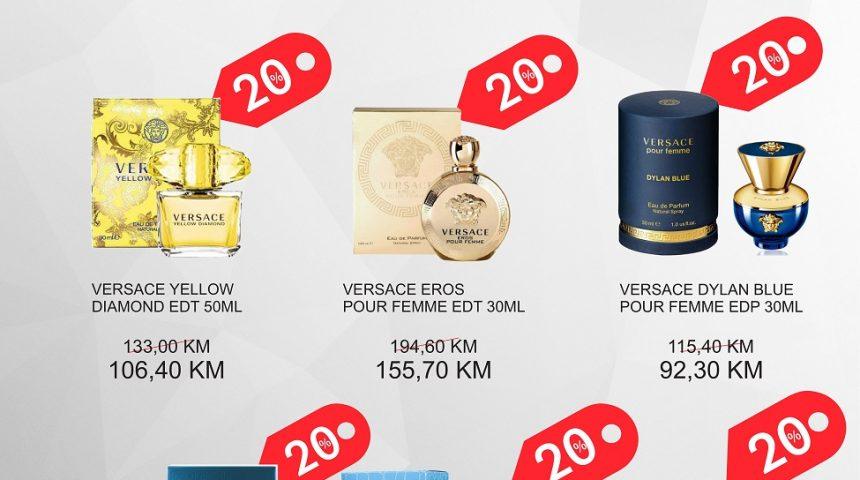 PARFUMERIJA – AKCIJA MJESECA Versace – LIPANJ 2018.