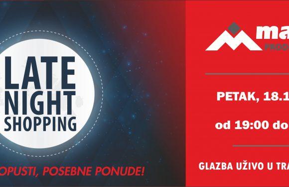 Noćni shopping u PC Mališić