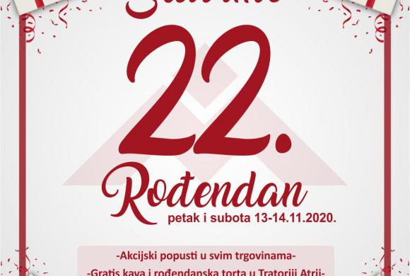 22. ROĐENDAN PC MALIŠIĆ 13.-14.11.2020.