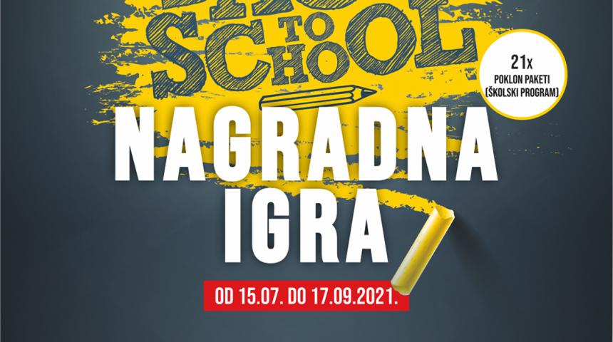 NAGRADNA IGRA BACK TO SCHOOL