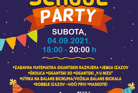 PARTY – BACK TO SCHOOL