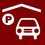 hotel-icon-has-indoor-parking-clip-art-redwhite-clip-art